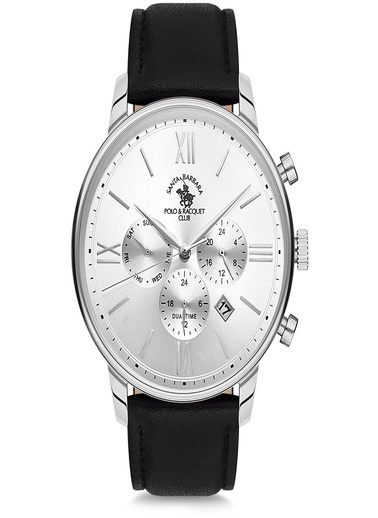 Santa Barbara Polo & Racquet C Saat Beyaz